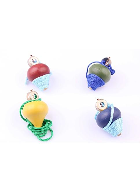 Learning Toys 2'li Ahşap Topaç Paketi Renkli